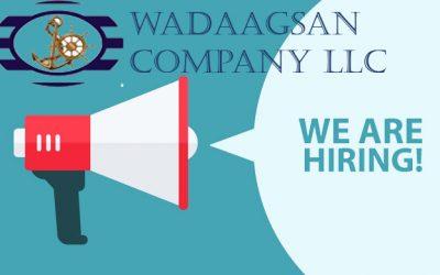 JOB VACANCY 3 NEW POSITIONS AT WADAAGSAN OFFICE GARACAD